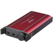 HA-P50-R [DAC搭載 ポータブルヘッドホンアンプ ハイレゾ音源対応 レッド]