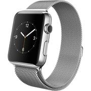 Apple Watch 42mmステンレスケースとミラネーゼループ