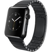 Apple Watch 42mmスペースブラックステンレスケースとスペースブラックリンクブレスレット