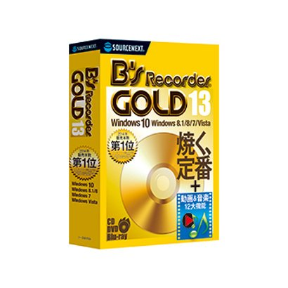 B's Recorder GOLD13 [Windowsソフト]