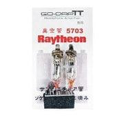 GO-DAP TT専用 RAYTHEON5703管 オリジナルDIP変換基板付き