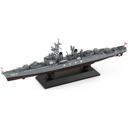 J45SP [1/700スケール 海上自衛隊 護衛艦 DD-107 むらさめ(初代)レジン製船底+エッチングパーツ付]