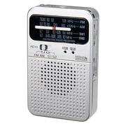 RD10SV [短波・AM・FMポケットラジオ シルバー]
