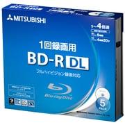 VBR260YP5D1 [BD-R(Video) 片面2層 1回録画用 260分 50GB 1-4倍速 1枚5mm透明ケース入り 5P インクジェットプリンタ・ワイド印刷エリア対応]