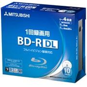 VBR260YP10D1 [BD-R(Video) 片面2層 1回録画用 260分 50GB 1-4倍速 1枚5mm透明ケース入り 10P インクジェットプリンタ・ワイド印刷エリア対応]