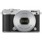 Nikon 1 J5 標準パワーズームレンズキット シルバー [ボディ+交換レンズ「NIKKOR VR 10-30mm f/3.5-5.6PD-ZOOM シルバー」]