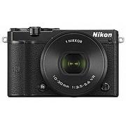 Nikon 1 J5 標準パワーズームレンズキット ブラック [ボディ+交換レンズ「NIKKOR VR 10-30mm f/3.5-5.6PD-ZOOM ブラック」]