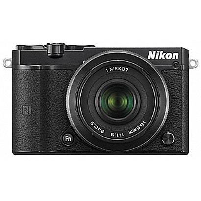 Nikon 1 J5 ダブルレンズキット ブラック [ボディ+交換レンズ「NIKKOR VR 10-30mm f/3.5-5.6PD-ZOOM ブラック」「NIKKOR VR18.5mm f/1.8 ブラック」]
