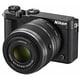 Nikon 1 J5 ダブルズームレンズキット ブラック [ボディ+交換レンズ「NIKKOR VR 10-30mm f/3.5-5.6PD-ZOOM ブラック」「NIKKOR VR 30-110mm f/3.8-5.6 ブラック」]
