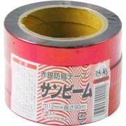 防鳥テープ 赤銀 5PC 12mm幅×90m [害鳥対策用]