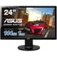 VG248QE-J [VGシリーズ 24型ワイド ゲーミングディスプレイ LEDバックライト搭載 DisplayPort/HDMI/DVI-D/応答速度1ms/ブラック]