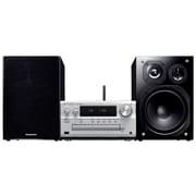 SC-PMX100-S [CDステレオシステム Bluetooth対応 ハイレゾ音源対応 シルバー ワイドFM対応]