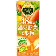 無添加野菜 48種の濃い野菜と果物 200ml×24本 [野菜果汁飲料]