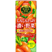 無添加野菜 にんじんたっぷり濃い野菜 200ml×24本 [野菜果汁飲料]