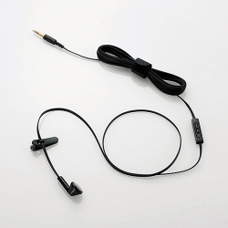 EHP-TVIEM0230BK [テレビ用ヘッドホン インナーイヤー型 モノラル 3.0m ブラック]