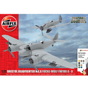 X50171 [1/72 ドッグファイトセット ボーファイター/Fw190A-8 塗料付]