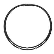 ワックルネック TWIN ABAAU01 ブラック Mサイズ [磁気・チタン・ゲルマニウムアクセサリ]