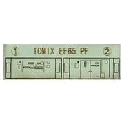 10280 [TOMIX製品対応 EF65用運転室背面シール]