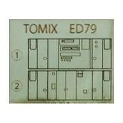 10284 [TOMIX製品対応 ED79用運転室背面シール]