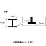 K 70EG284 [ブラボウ H鋼 3.2mm]