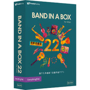 Band-in-a-Box 22 for Mac EverythingPAK [Mac]