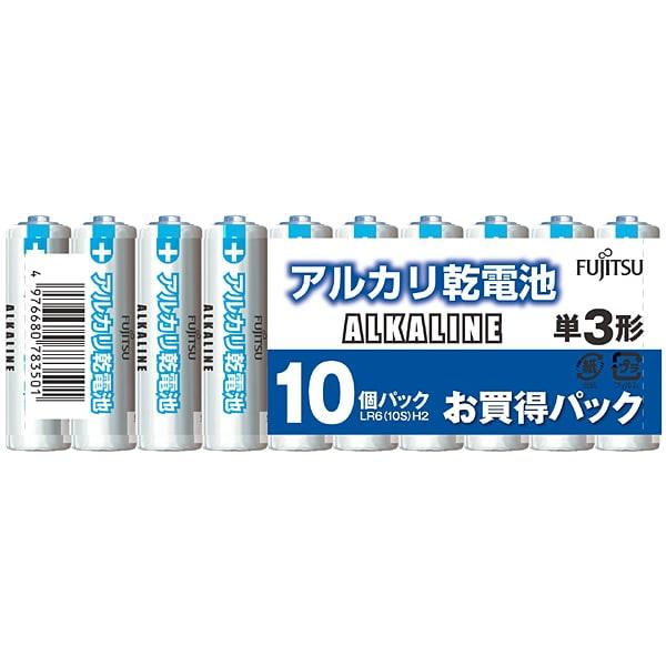LR6(10S)H2 [アルカリ電池 単3形 10本パック]