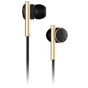 CAE20100 [Caeden Linea N 2 In Ear Headphones-Faceted Carbon & Gold インナーイヤーヘッドホン]