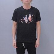S-313A [Tシャツ 二人舞妓 黒 M]
