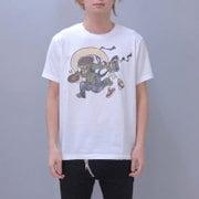 S-1417A [Tシャツ DJ風神 白 M]