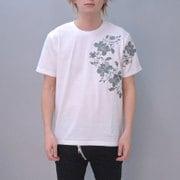 S-1819A [Tシャツ 唐草 白 L]
