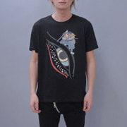 S-2092A [Tシャツ 目鯨 黒 M]