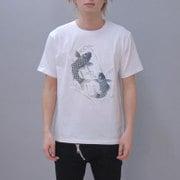 S-1693A [Tシャツ 踊鯉 白 S]
