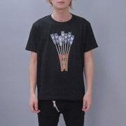 S-1413A [Tシャツ 勝軍虫 黒 L]