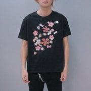 S-2746 [Tシャツ ハローキティ小桜 黒 WM]