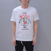 S-2440A [Tシャツ ワンピース 恵比寿サンジ 白 LL]