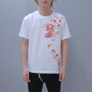 S-2441A [Tシャツ ワンピース 弁財天チョッパー 白 S]