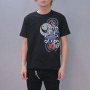 S-2497A [Tシャツ ワンピース 毘沙門天ゾロ 黒 LL]