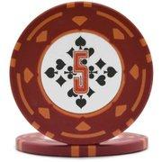 ダイヤモンドプロフェッショナル ポーカーチップ5 [25枚セット]