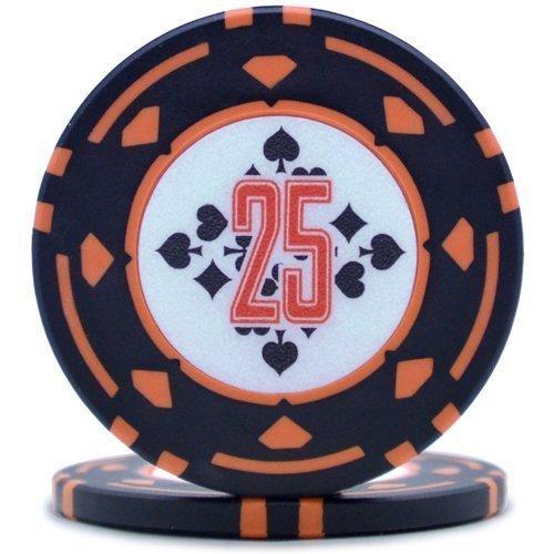ダイヤモンドプロフェッショナル ポーカーチップ25 [25枚セット]
