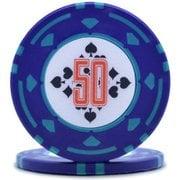 ダイヤモンドプロフェッショナル ポーカーチップ50 [25枚セット]