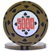 ダイヤモンドプロフェッショナル ポーカーチップ5000 [25枚セット]
