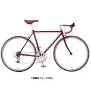 AFRS485 OR47 [ロードバイク Freedom Sports(フリーダム スポーツ) 48cm 700×28C 外装14段変速(フロント2段×リア7段) ネオダークコスモレッド]