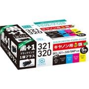 ECI-C3215P+BK [キヤノン BCI-321+320/5MP+黒 互換リサイクルインクカートリッジ]