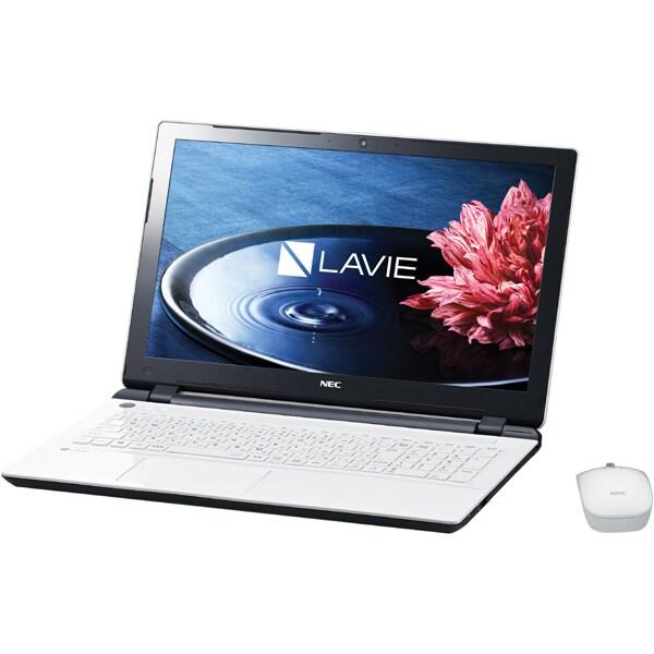 PC-NS150BAW [LAVIE Note Standard(ラヴィ ノート スタンダード) NS150/BA 15.6型ワイド/HDD1TB/DVDスーパーマルチドライブ/Windows 8.1 Update 64ビット/エクストラホワイト]