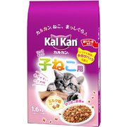 KD24 カルカンドライ 12ヶ月までの子ねこ用 かつおと野菜味ミルク粒入り 1.6kg [キャットフード ドライ]