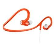 SHQ4300OR [スポーツタイプ 密閉型ネックバンド インイヤーヘッドフォン ホワイト/オレンジ]