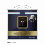 LP-AW38MCGD [Apple Watch 38mm用 ハードケース 「METAL HARD」 ゴールド]