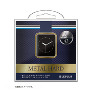 LP-AW42MCGD [Apple Watch 42mm用 ハードケース 「METAL HARD」 ゴールド]