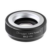 Lens Turbo2 M42-FX [M42マウントレンズ-富士Xマウント フォーカルレデューサーアダプター]