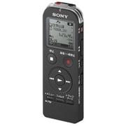 ICD-UX533FA BC [ICレコーダー 4GBメモリー内蔵 FMラジオ機能搭載 ブラック ワイドFM対応]